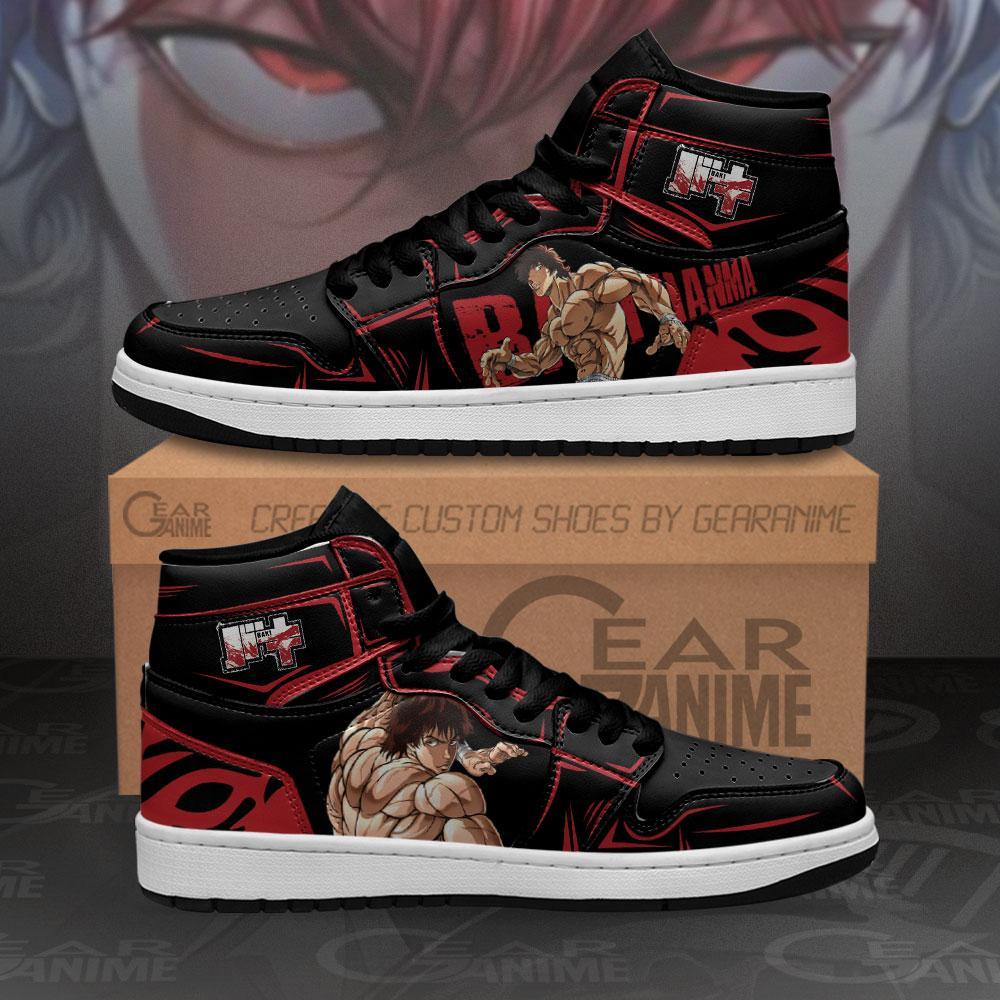Baki Hanma Sneakers Baki Custom Anime Air Jordan Shoes