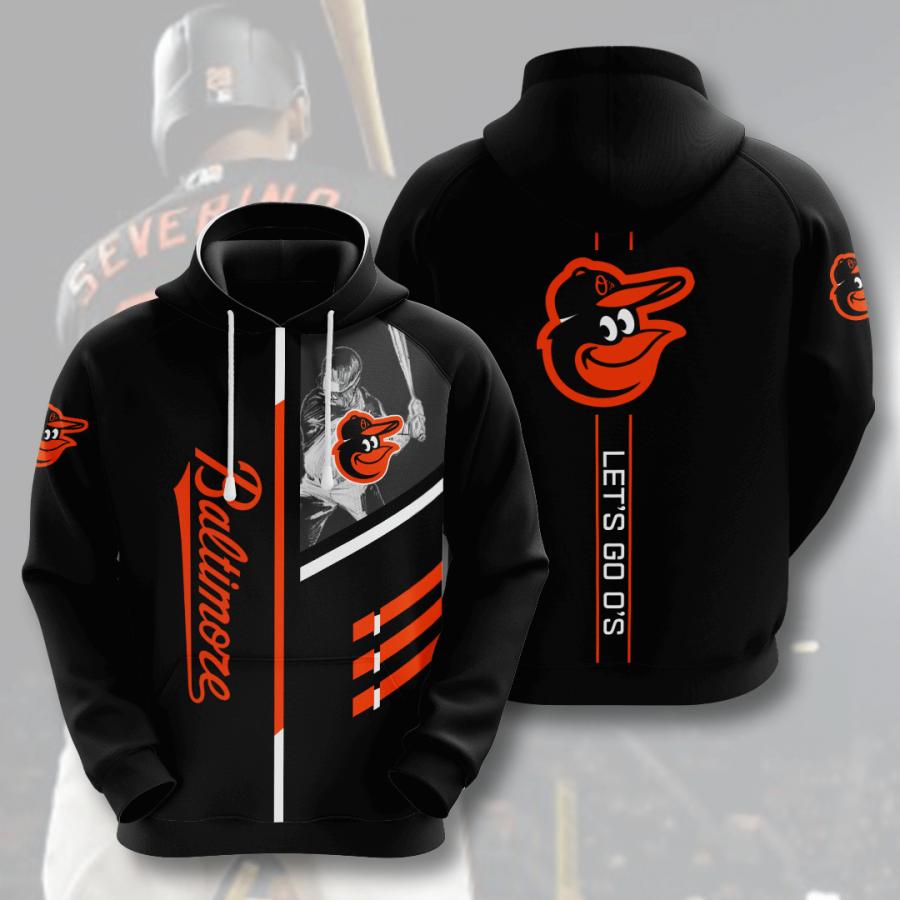 Baltimore Orioles No139 Custom Hoodie 3D
