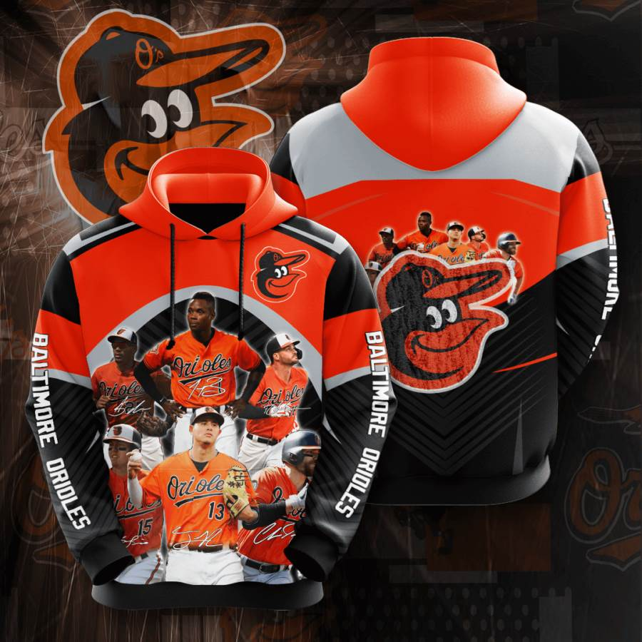 Baltimore Orioles No141 Custom Hoodie 3D