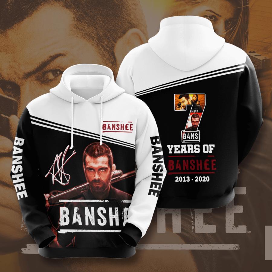 Banshee No179 Custom Hoodie 3D