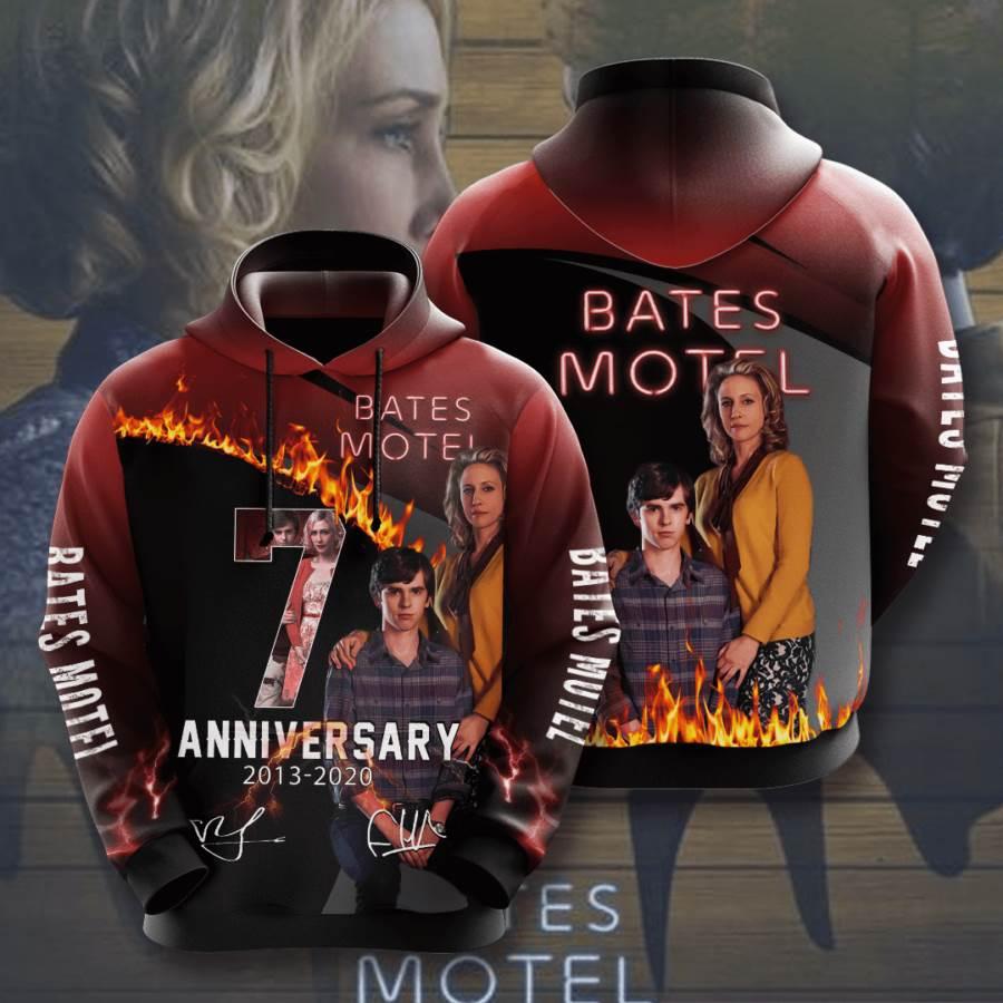 Bates Motel No183 Custom Hoodie 3D