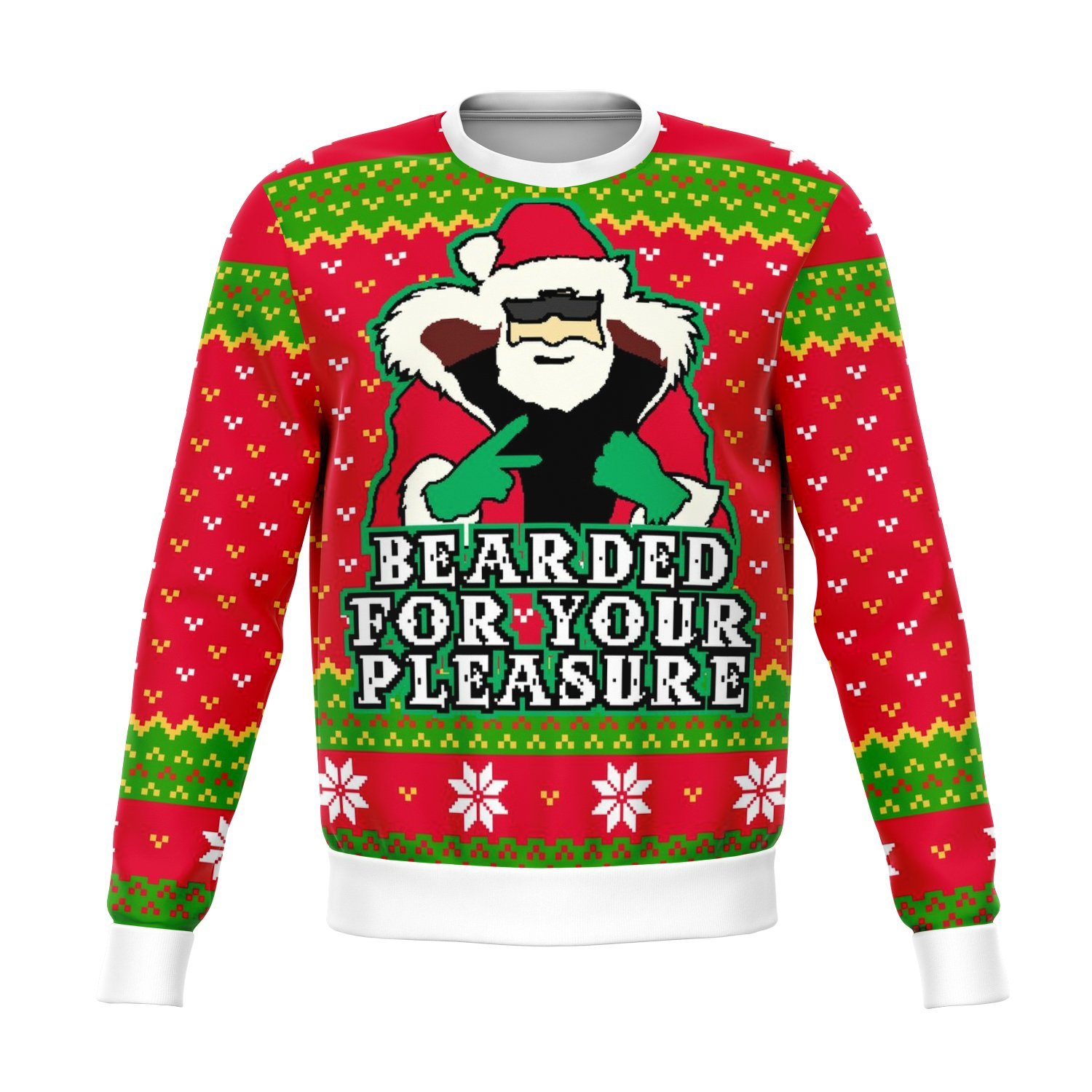 Beard For Your Pleasure Funny Ugly Sweater