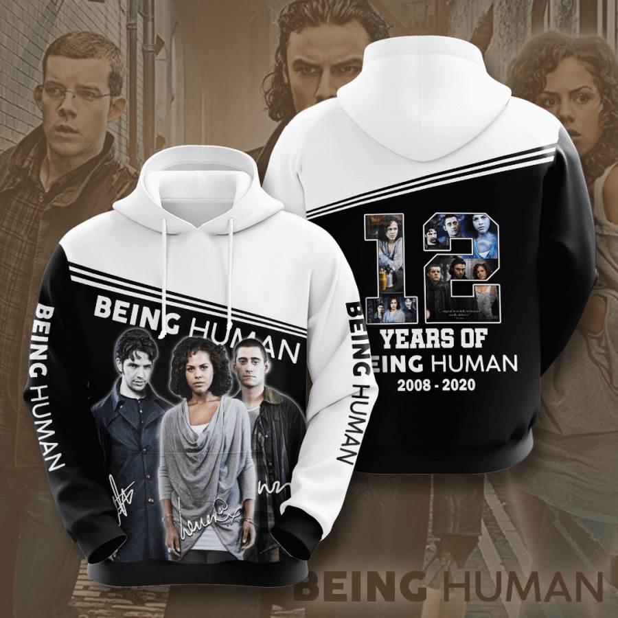 Being Human No186 Custom Hoodie 3D