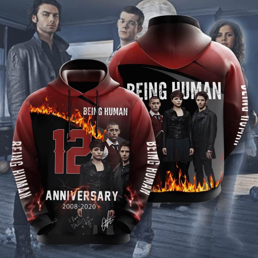 Being Human No187 Custom Hoodie 3D