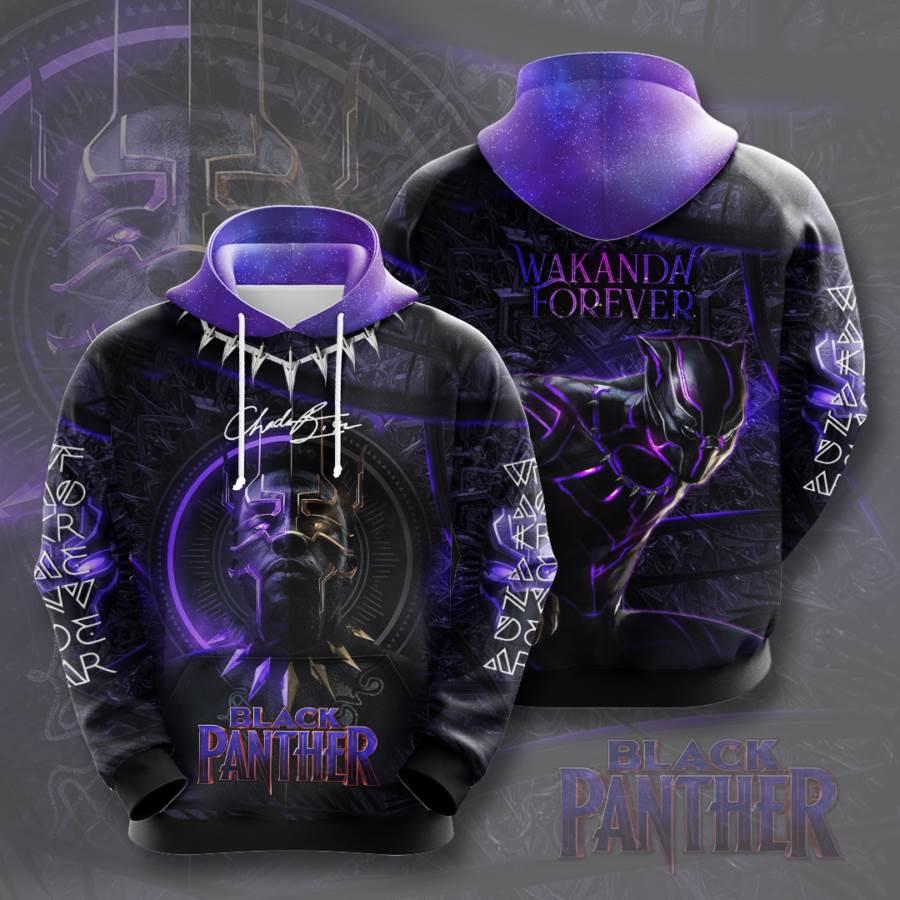 Black Panther No194 Custom Hoodie 3D