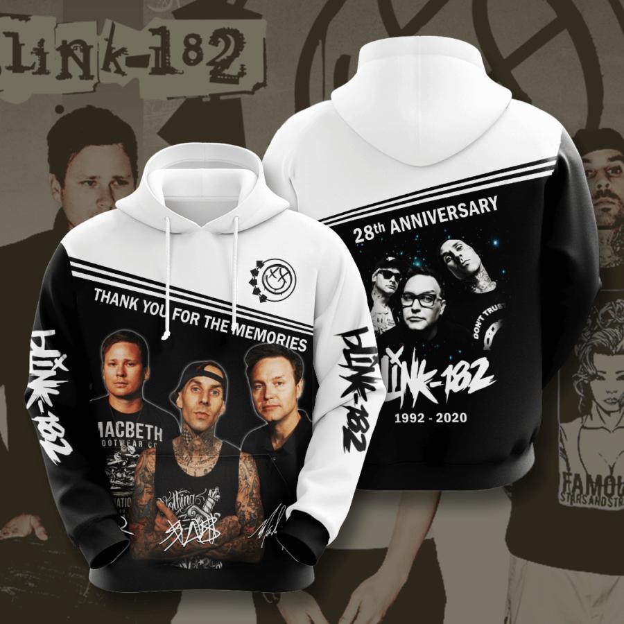 Blink 182 No199 Custom Hoodie 3D