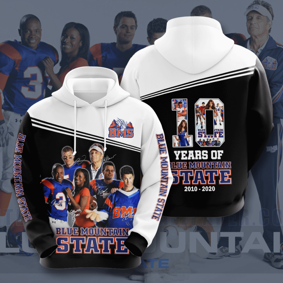 Blue Mountain State No200 Custom Hoodie 3D