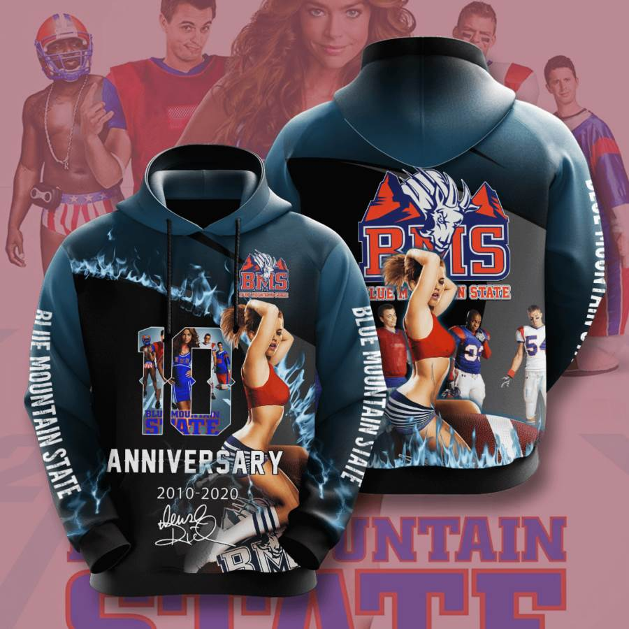 Blue Mountain State No201 Custom Hoodie 3D