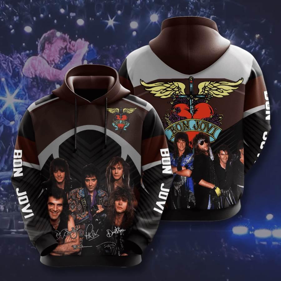 Bon Jovi No217 Custom Hoodie 3D