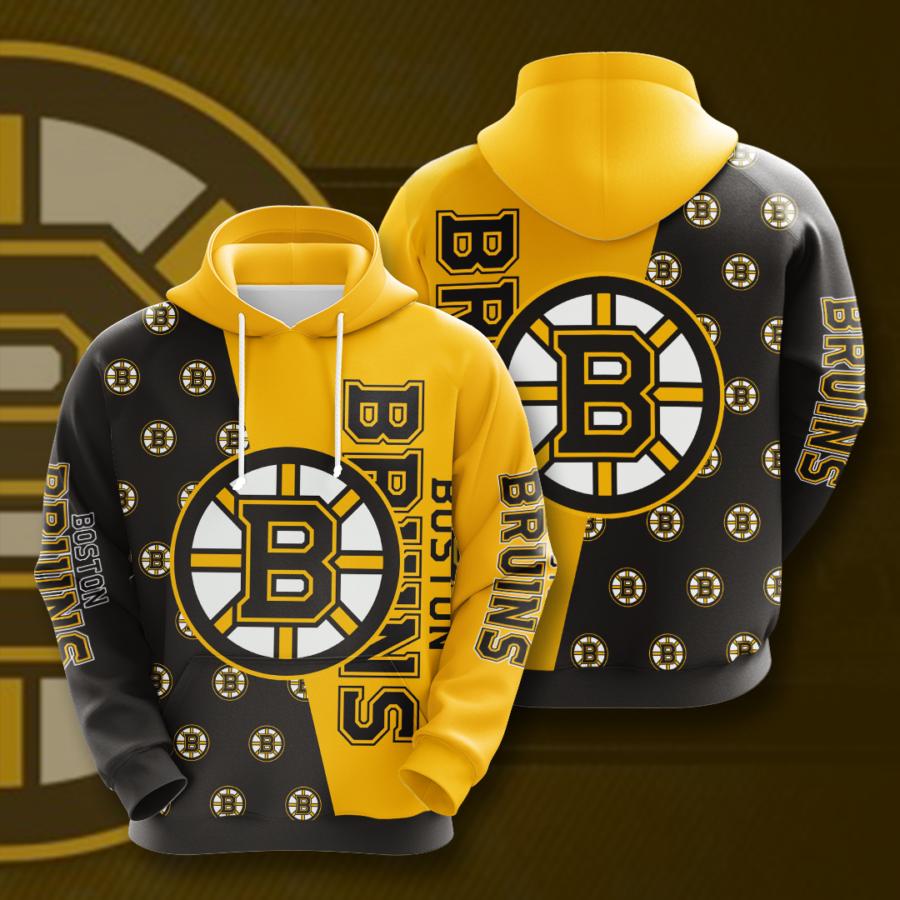 Boston Bruins No218 Custom Hoodie 3D