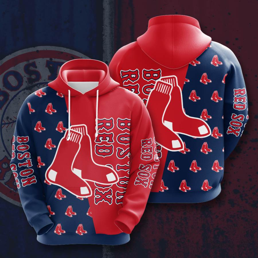 Boston Red Sox No227 Custom Hoodie 3D
