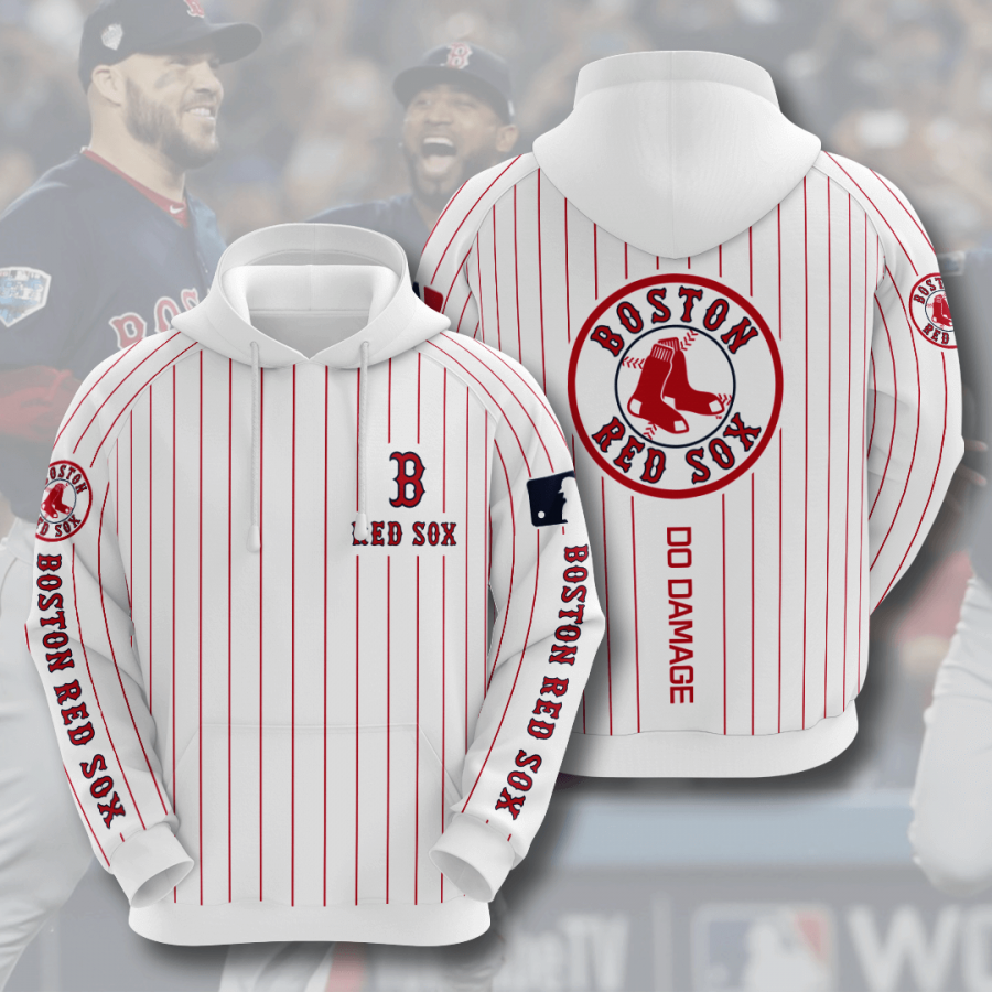 Boston Red Sox No234 Custom Hoodie 3D