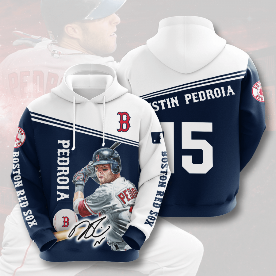 Boston Red Sox No235 Custom Hoodie 3D