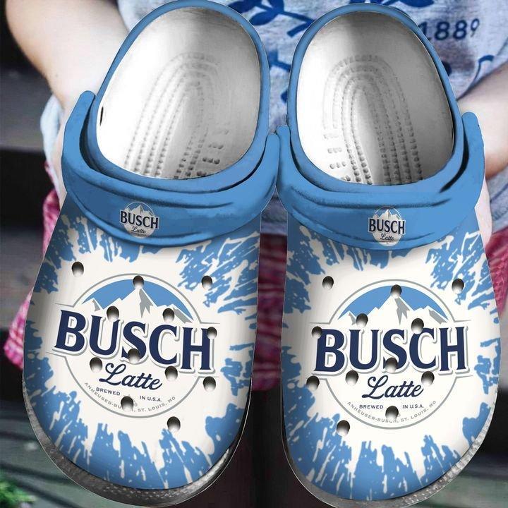 Break All Limits Busch Latte Crocs Clog Shoes