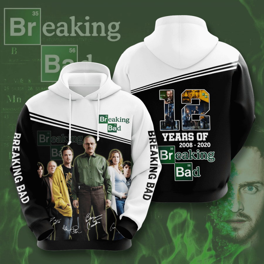 Breaking Bad No238 Custom Hoodie 3D