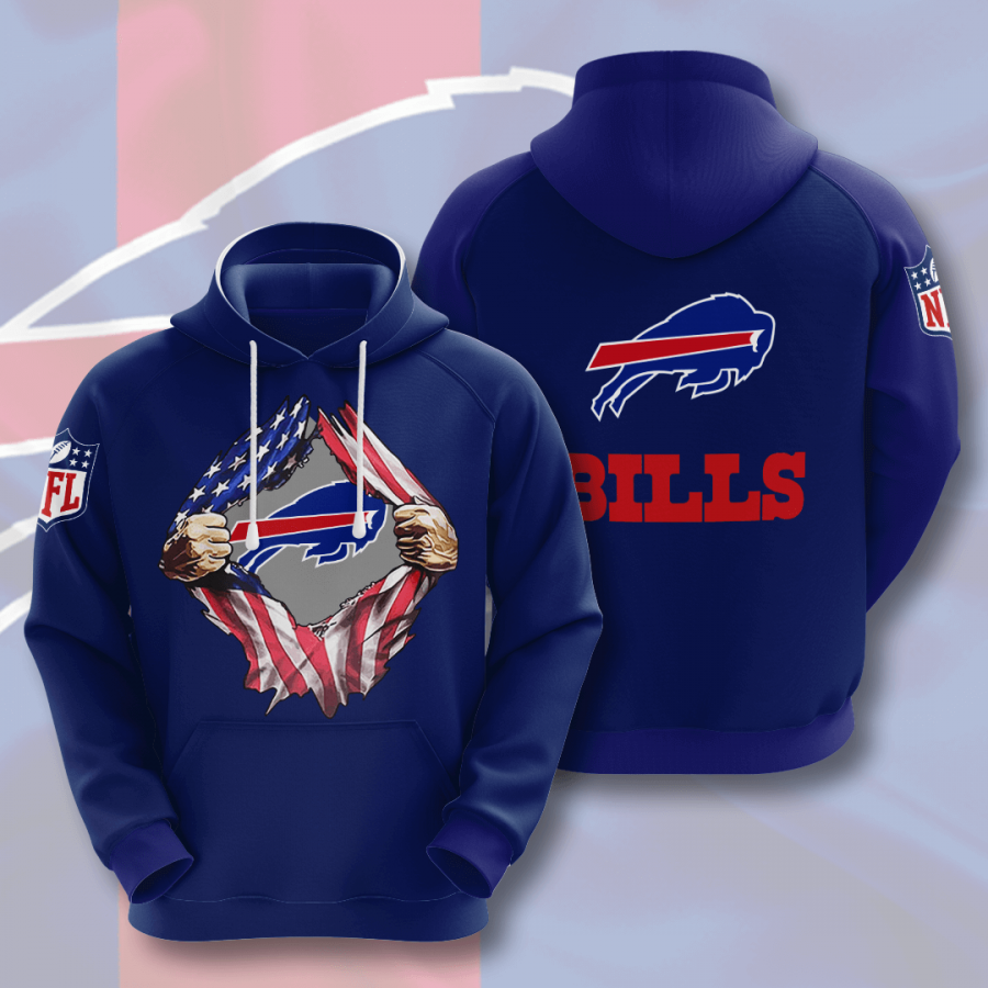 Buffalo Bills No253 Custom Hoodie 3D