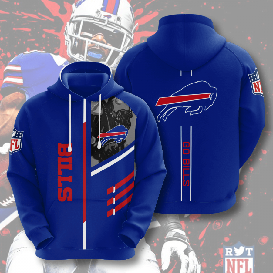 Buffalo Bills No261 Custom Hoodie 3D