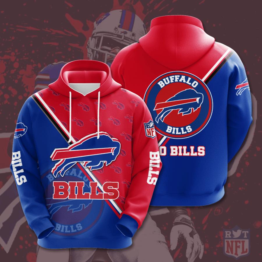 Buffalo Bills No262 Custom Hoodie 3D