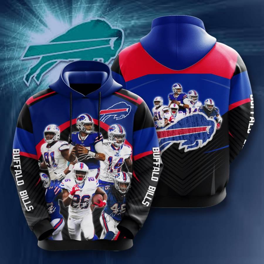 Buffalo Bills No263 Custom Hoodie 3D