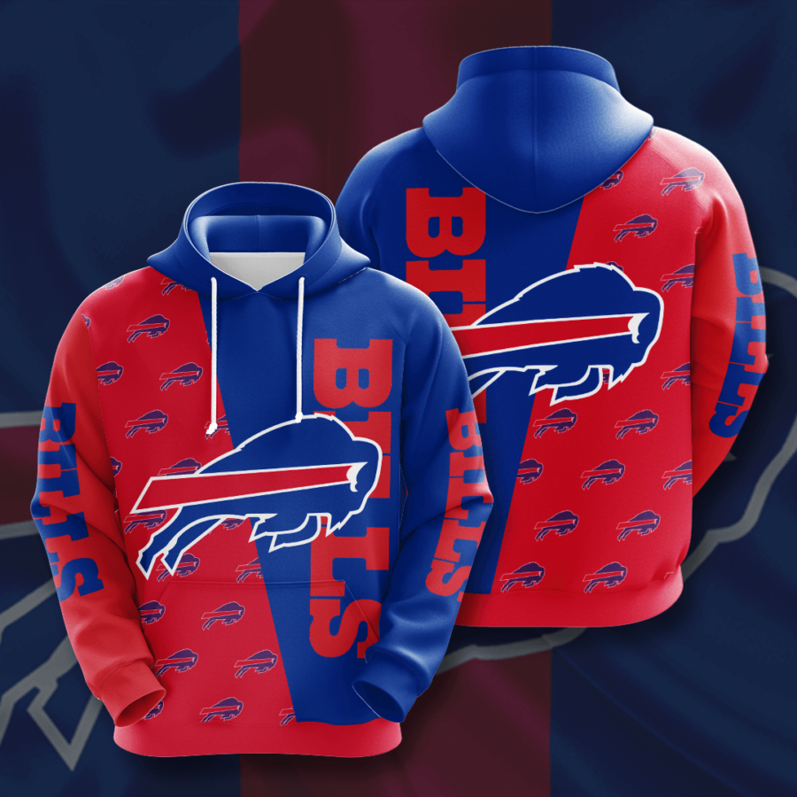 Buffalo Bills No264 Custom Hoodie 3D