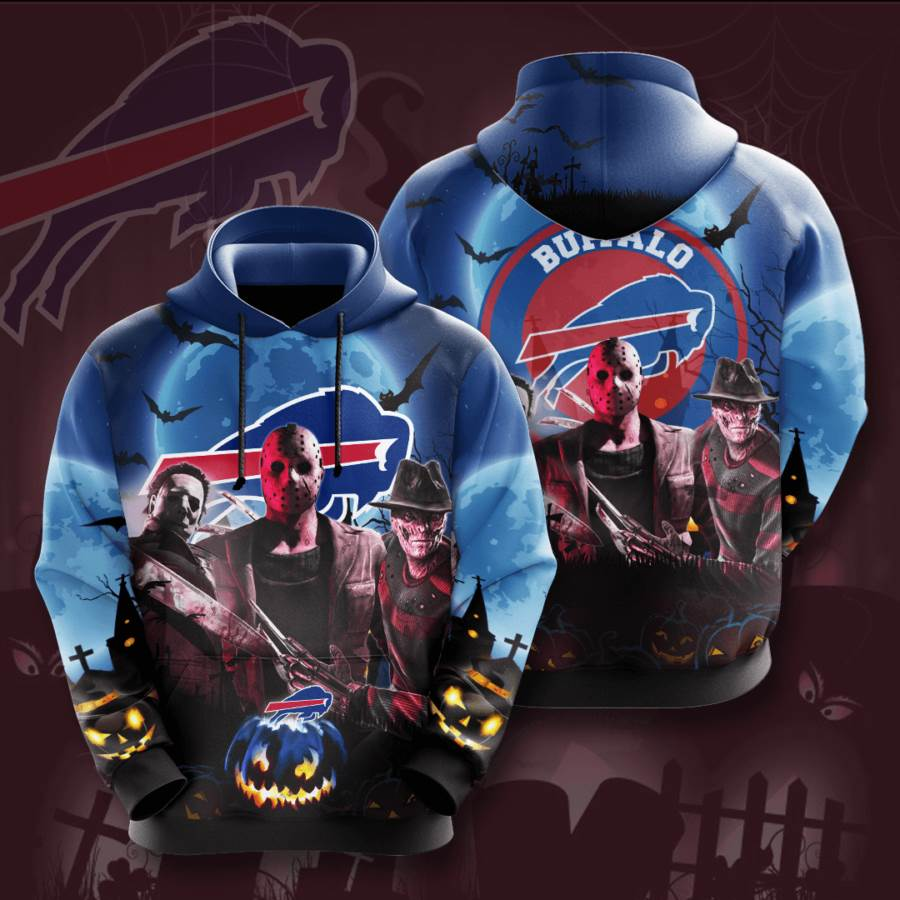 Buffalo Bills No265 Custom Hoodie 3D