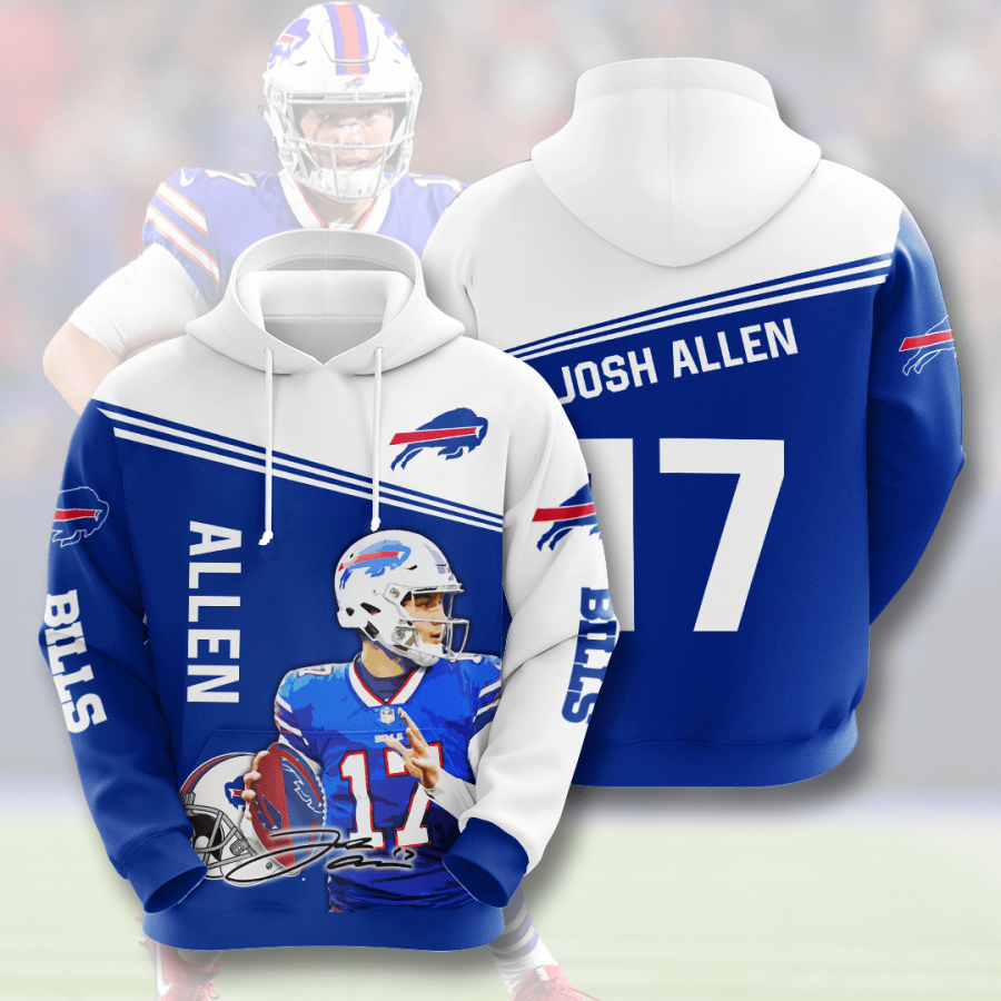 Buffalo Bills No268 Custom Hoodie 3D
