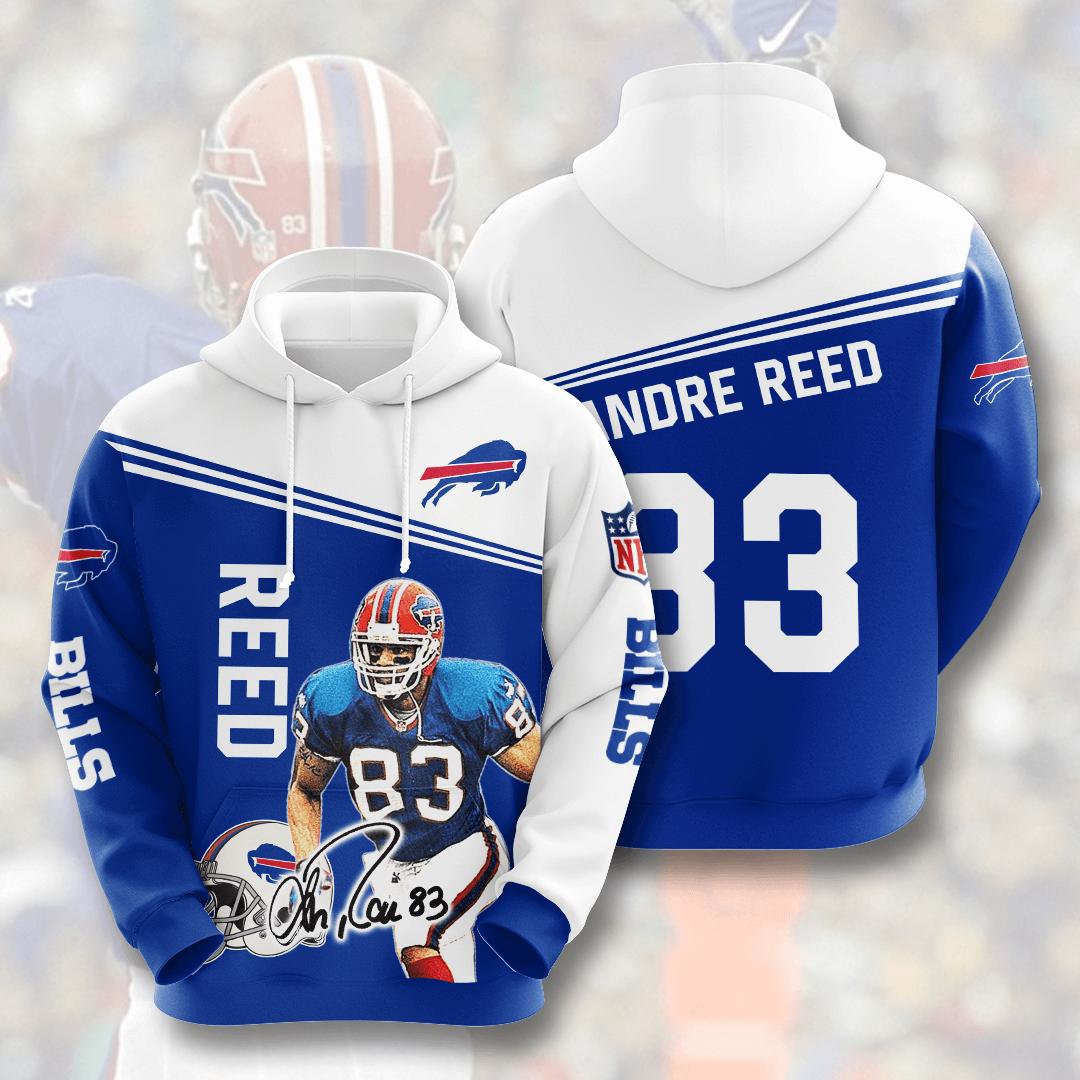 Buffalo Bills No270 Custom Hoodie 3D