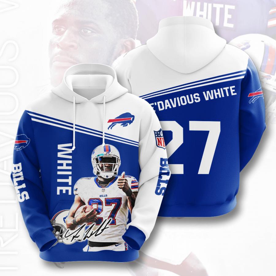 Buffalo Bills No271 Custom Hoodie 3D
