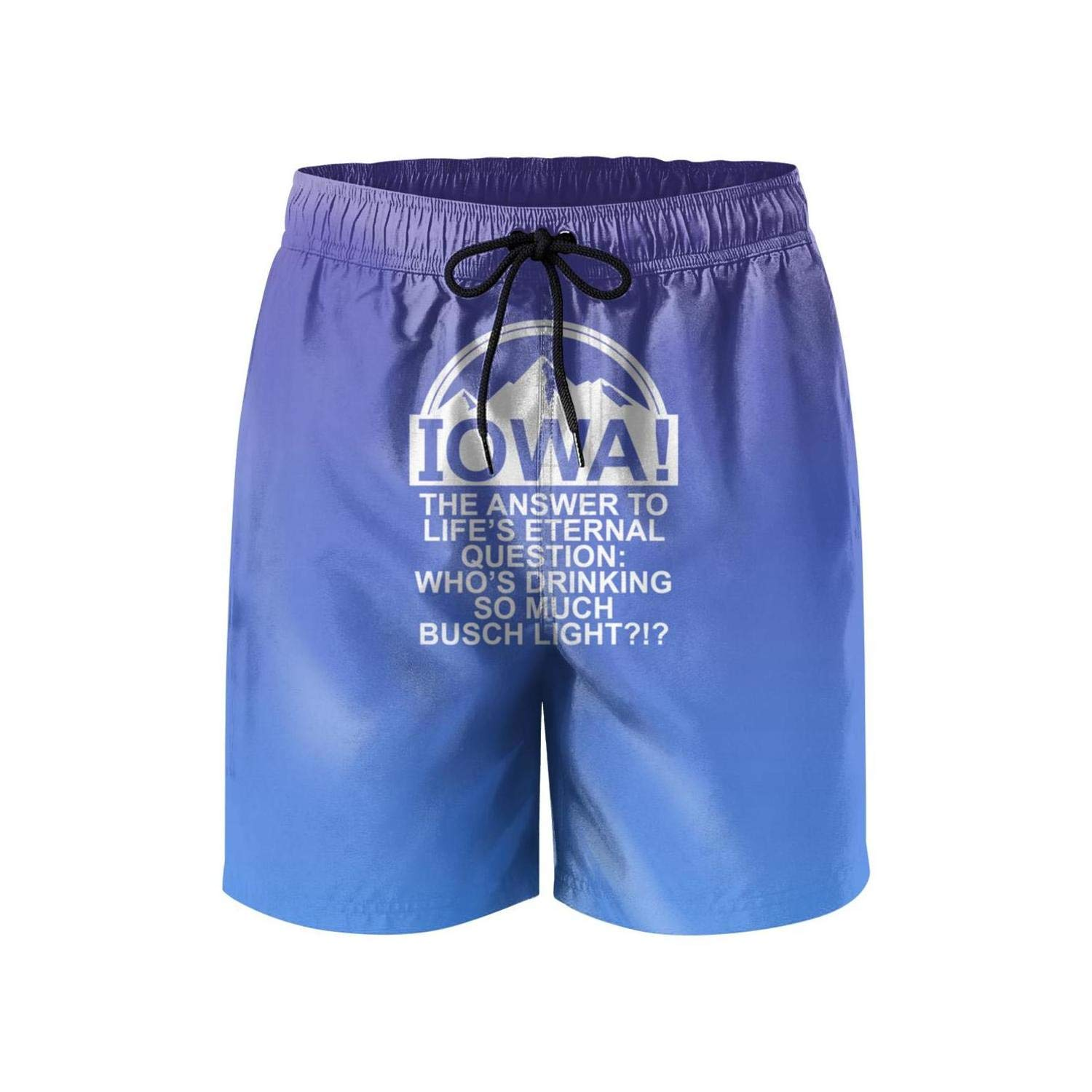 Busch Light Beer No11 Shorts