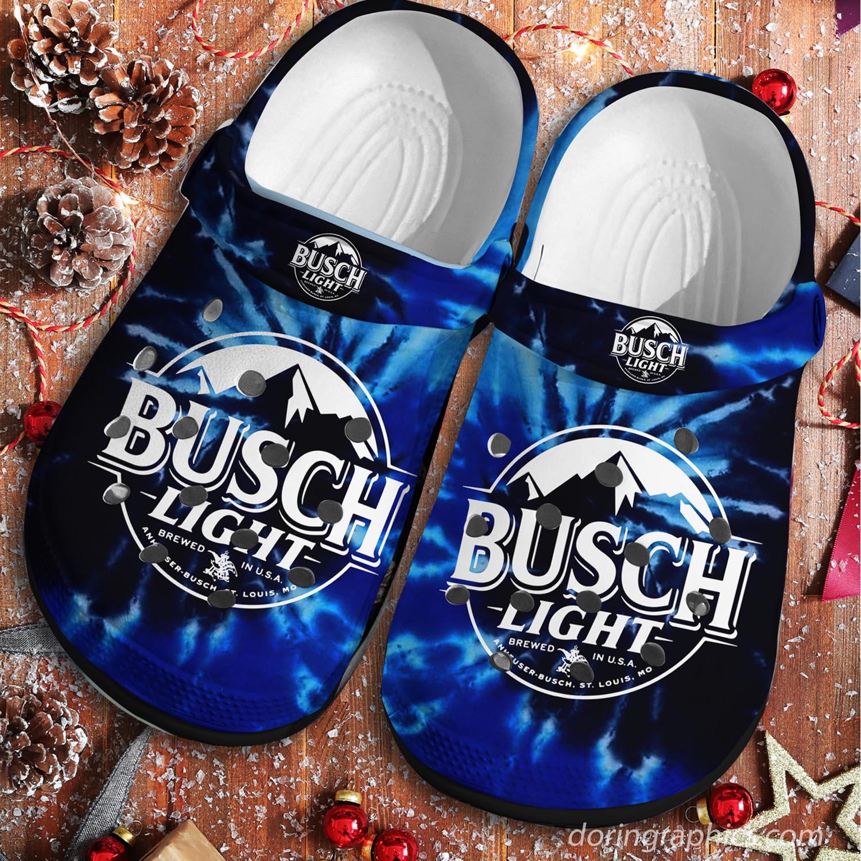 Busch Light Busch Latte Cool Crocs Clog Shoes