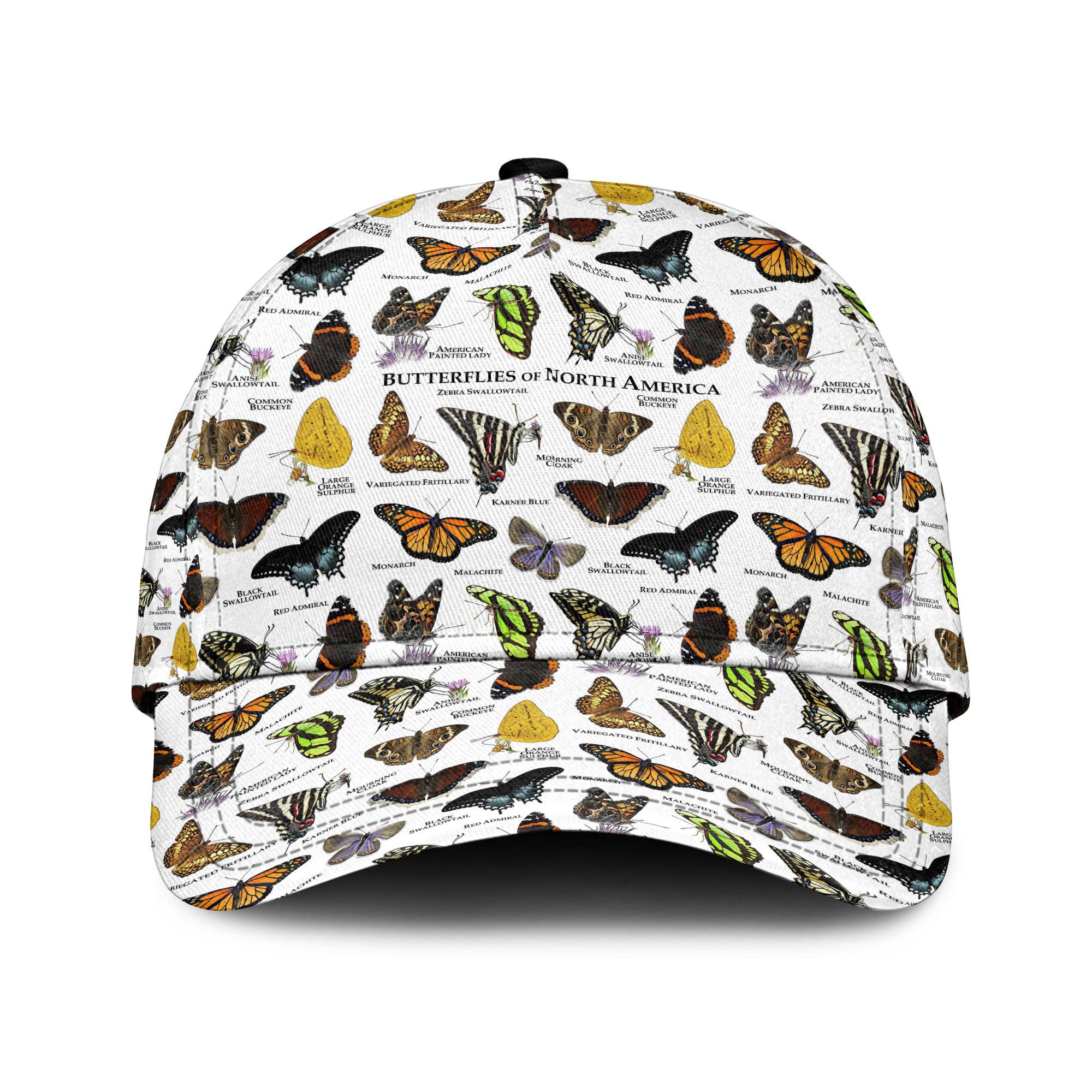 Butterfly Of North America Sku 39 Classic Cap