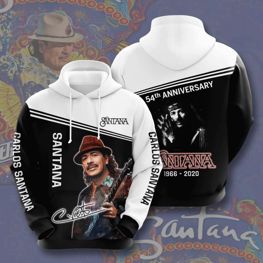Carlos Santana No291 Custom Hoodie 3D