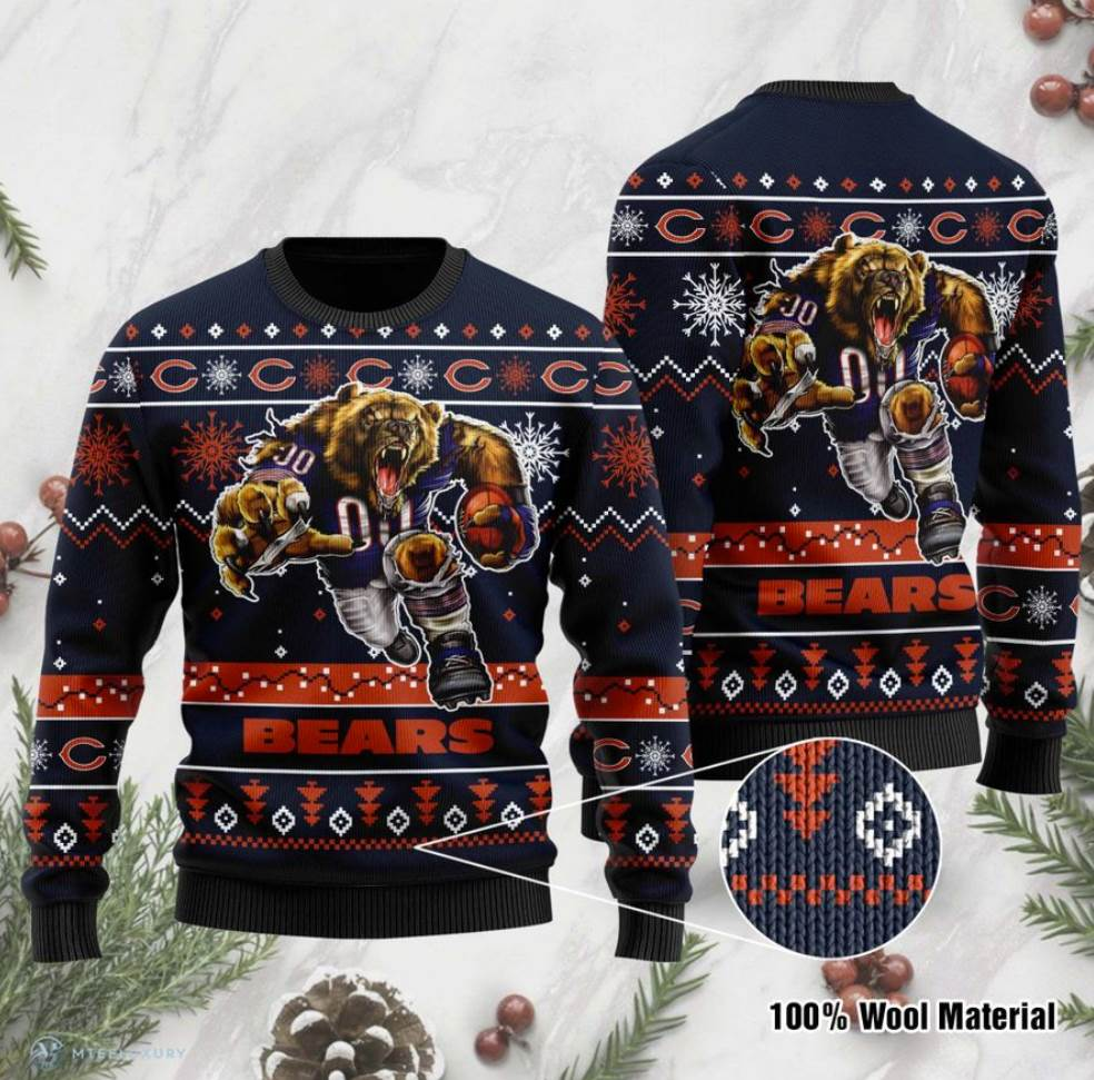 Chicago Bears Ugly Sweater