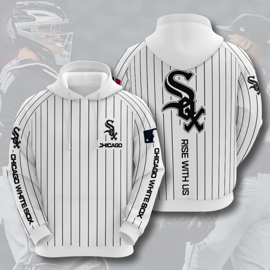 Chicago White Sox No363 Custom Hoodie 3D