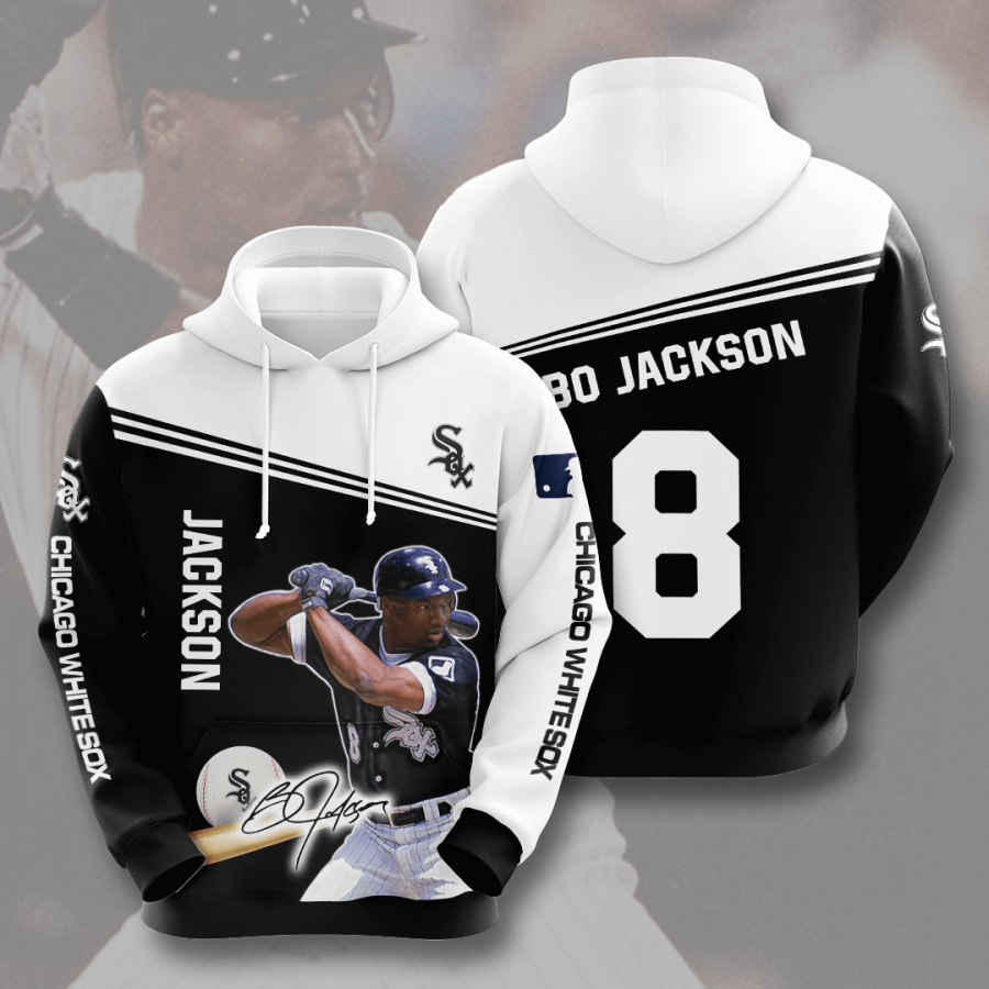 Chicago White Sox No364 Custom Hoodie 3D