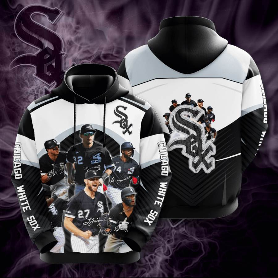 Chicago White Sox No367 Custom Hoodie 3D