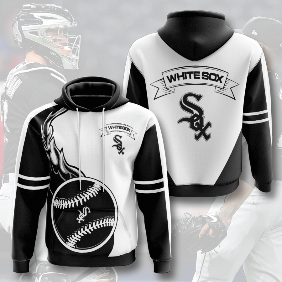 Chicago White Sox No370 Custom Hoodie 3D