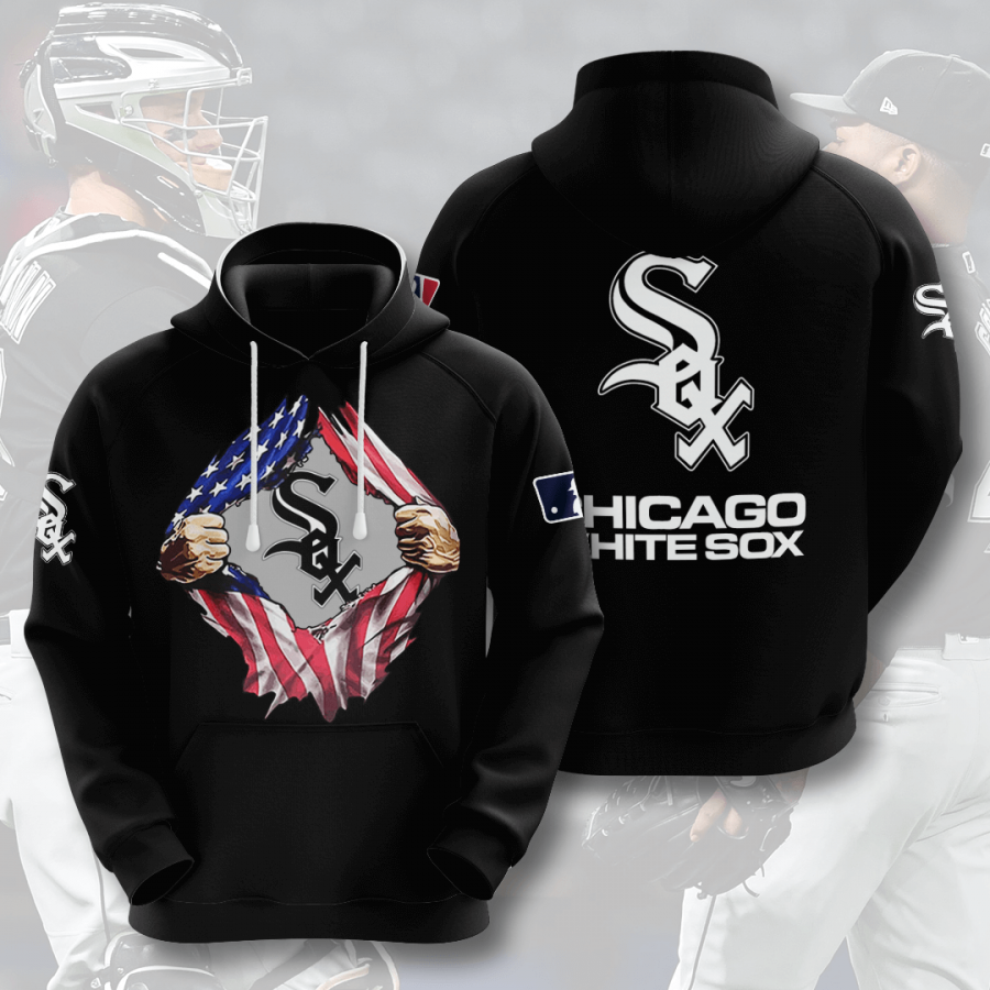 Chicago White Sox No373 Custom Hoodie 3D