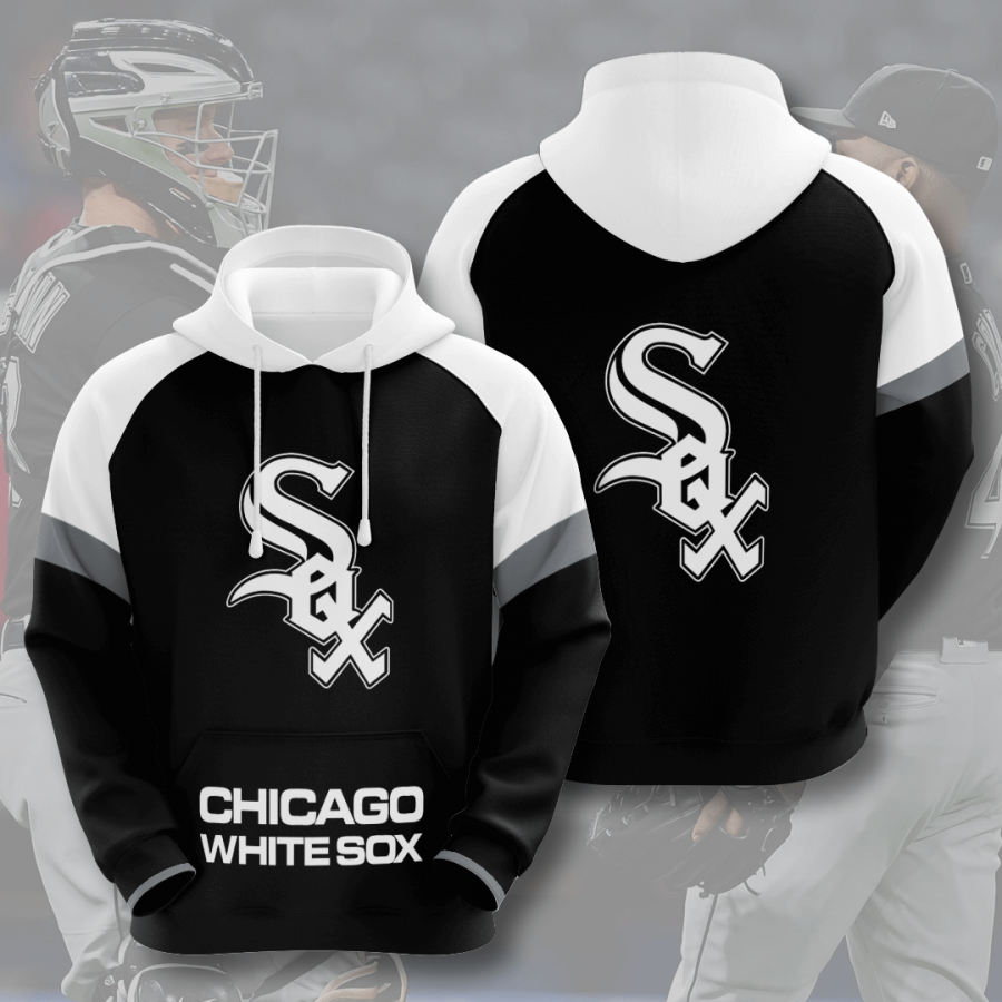 Chicago White Sox No374 Custom Hoodie 3D