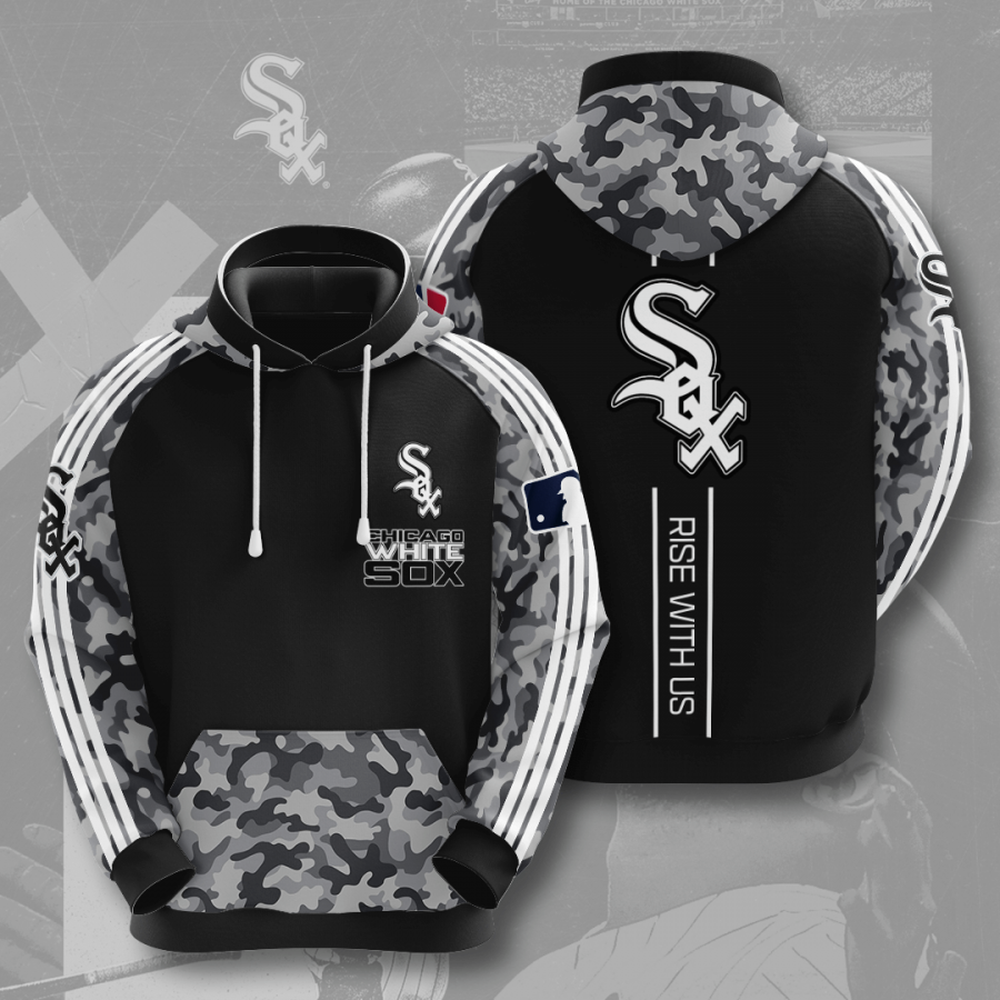 Chicago White Sox No375 Custom Hoodie 3D