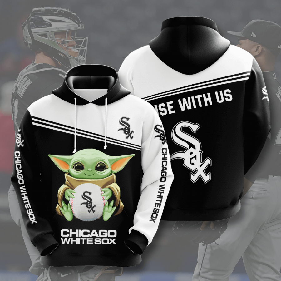 Chicago White Sox No376 Custom Hoodie 3D