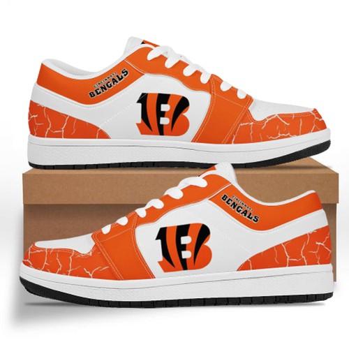 Cincinnati Bengals Casual Shoes Low Top Sneakers