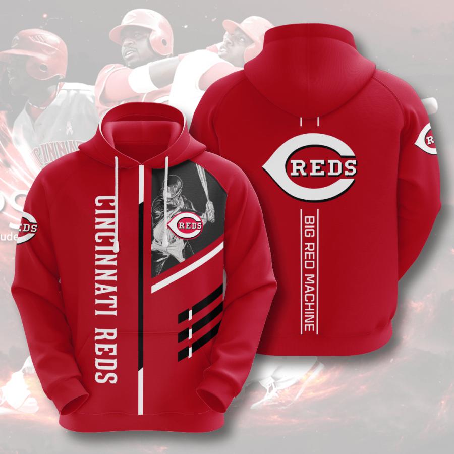 Cincinnati Reds No415 Custom Hoodie 3D