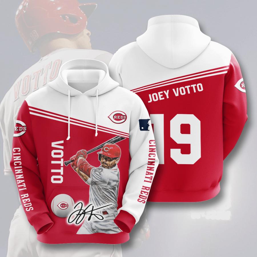 Cincinnati Reds No419 Custom Hoodie 3D
