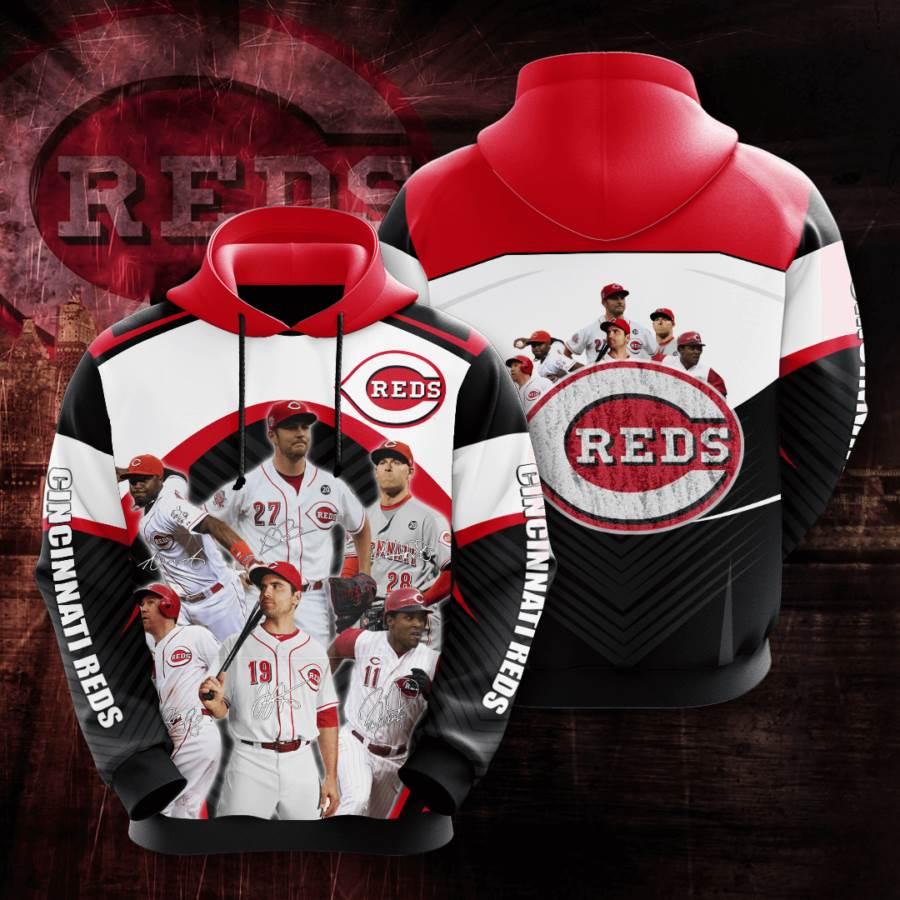Cincinnati Reds No425 Custom Hoodie 3D