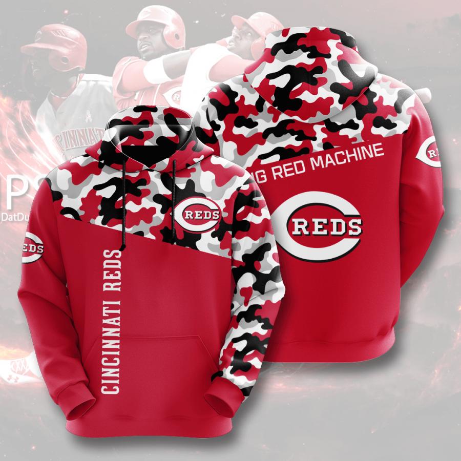 Cincinnati Reds No427 Custom Hoodie 3D