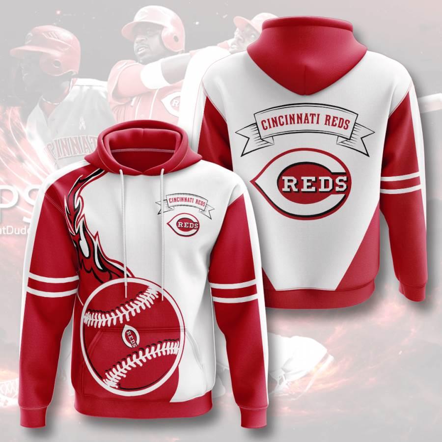 Cincinnati Reds No428 Custom Hoodie 3D