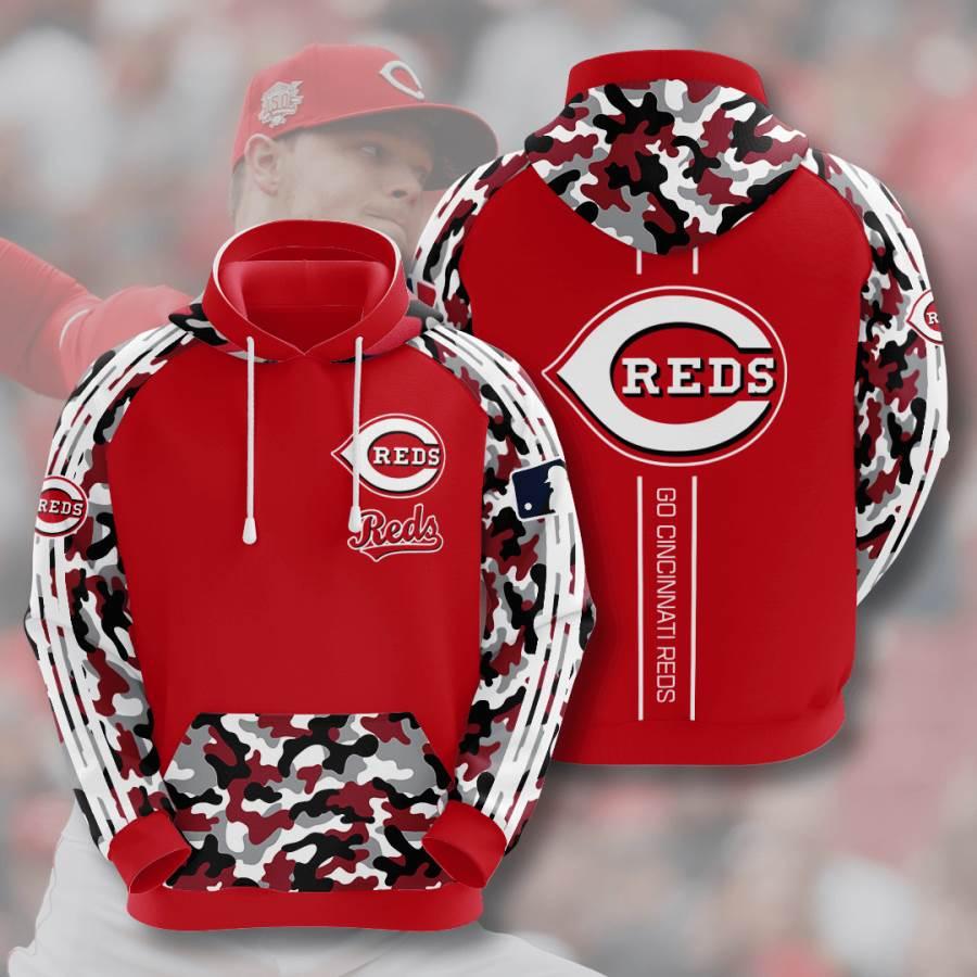 Cincinnati Reds No429 Custom Hoodie 3D