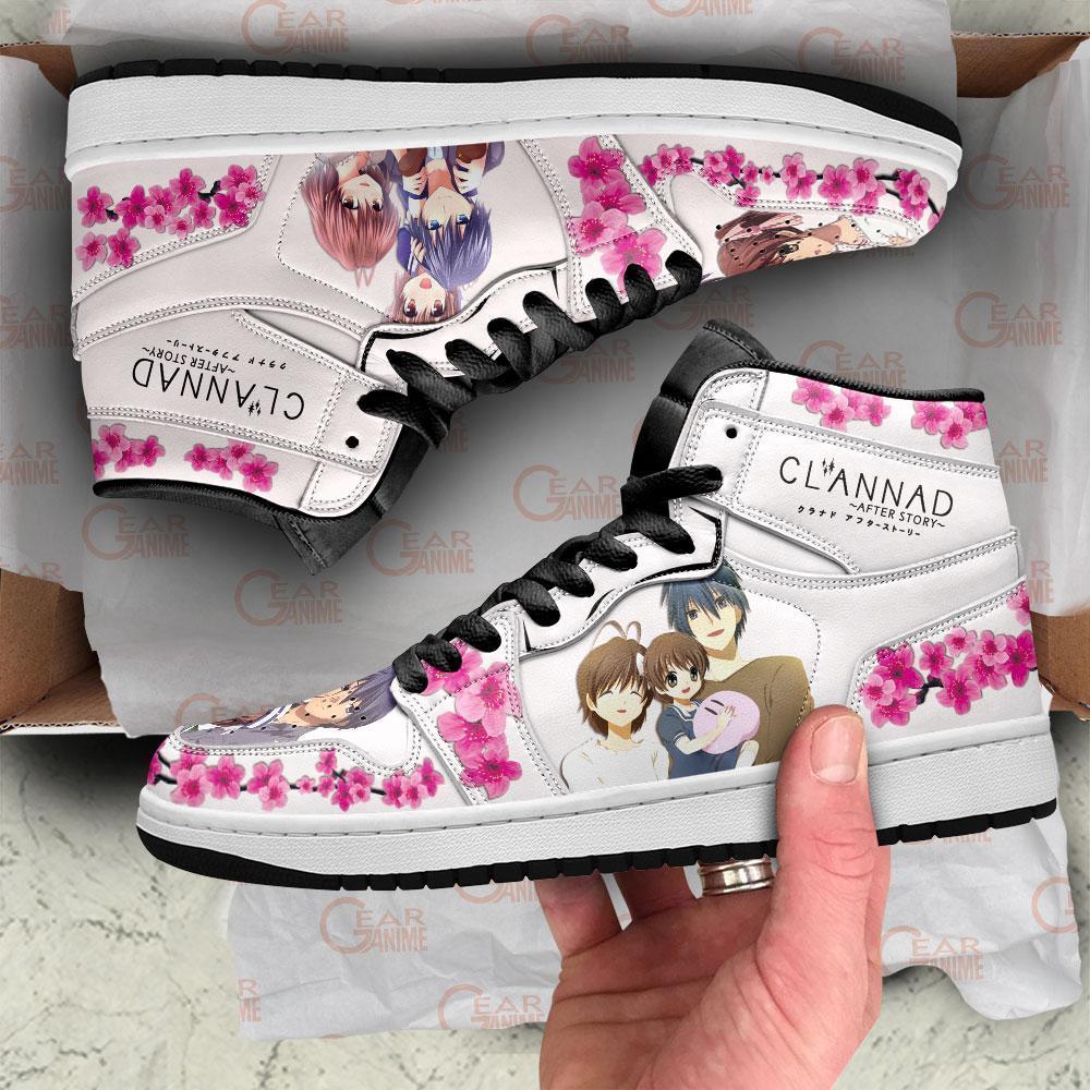 Clannad Sneakers After Story Anime Custom Air Jordan Shoes