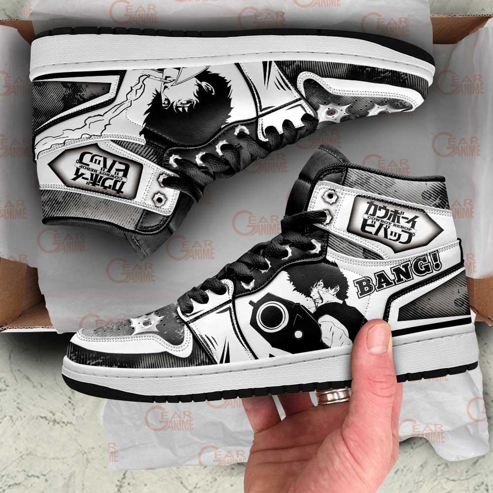 Cowboy Bebop Sneakers Spike Spiegel Anime Custom Air Jordan Shoes
